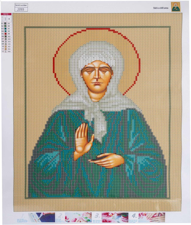 Diamant Mosaik Ikone Matrona von Moskau