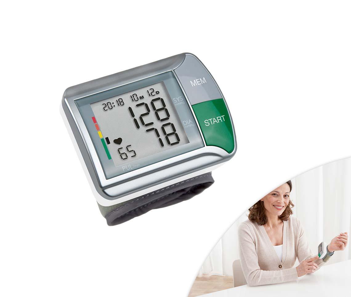 Handgelenk-Blutdruckmessegerät HGN