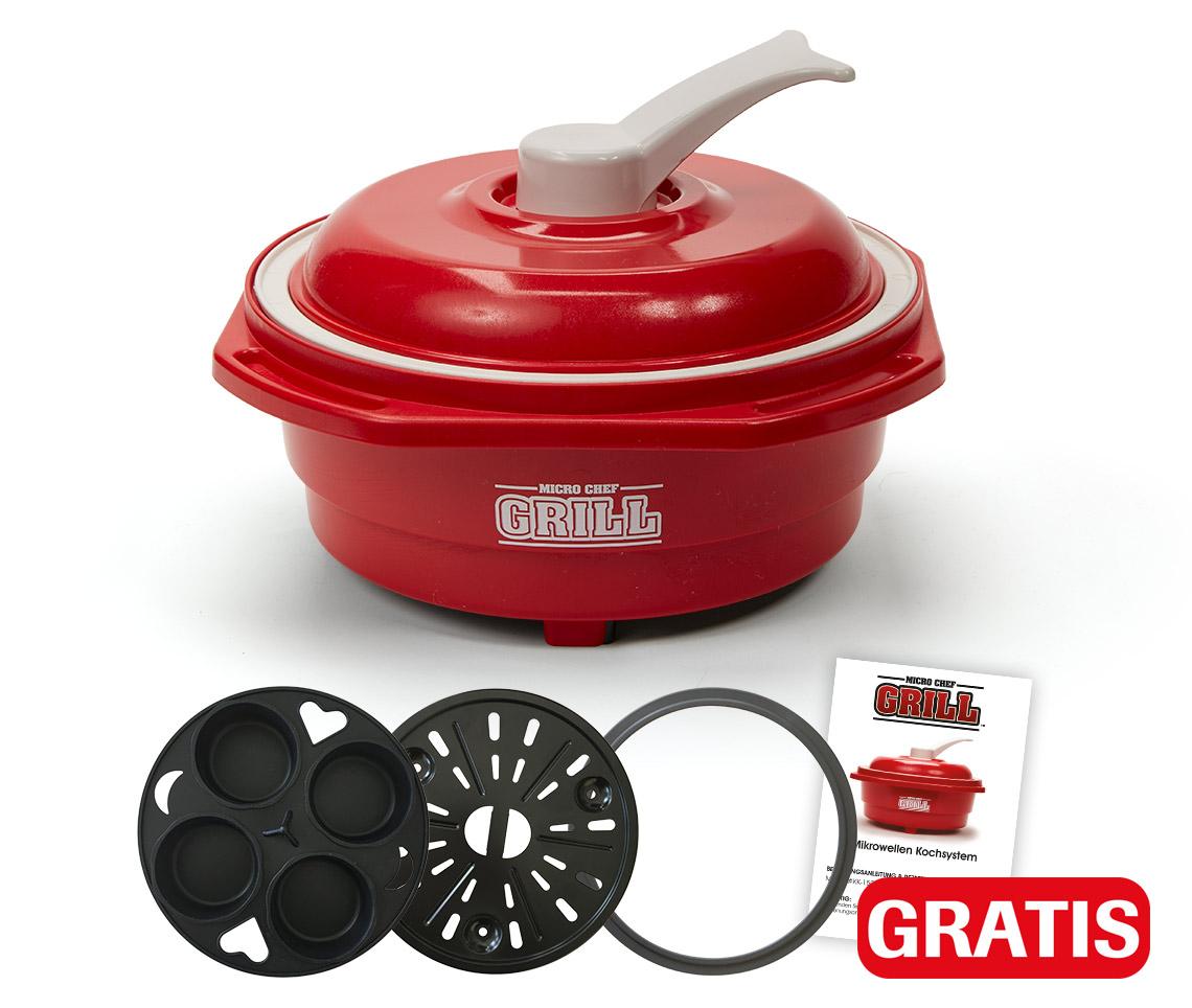 Micro Chef Grill Deluxe