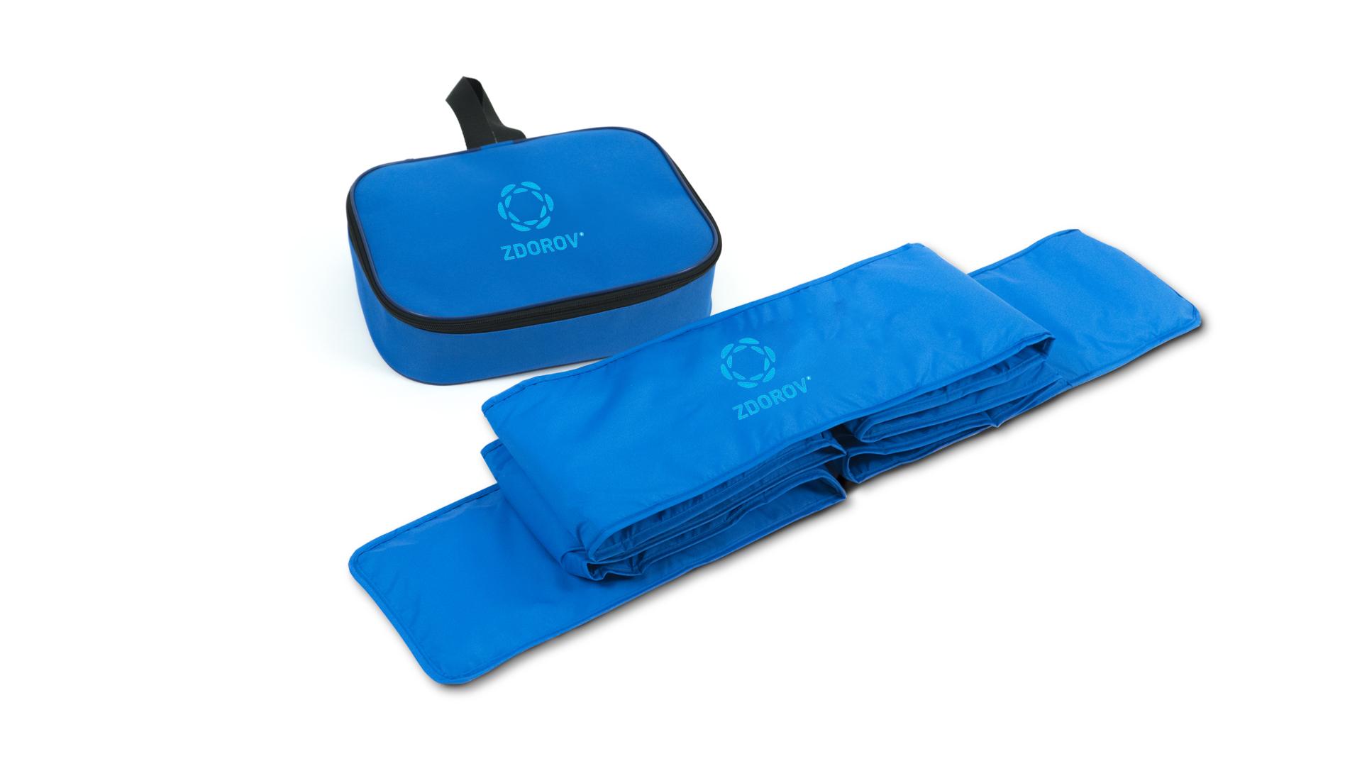 VARIFORT Belt Bandage - Rückengürtel mit Mikroperlenfüllung