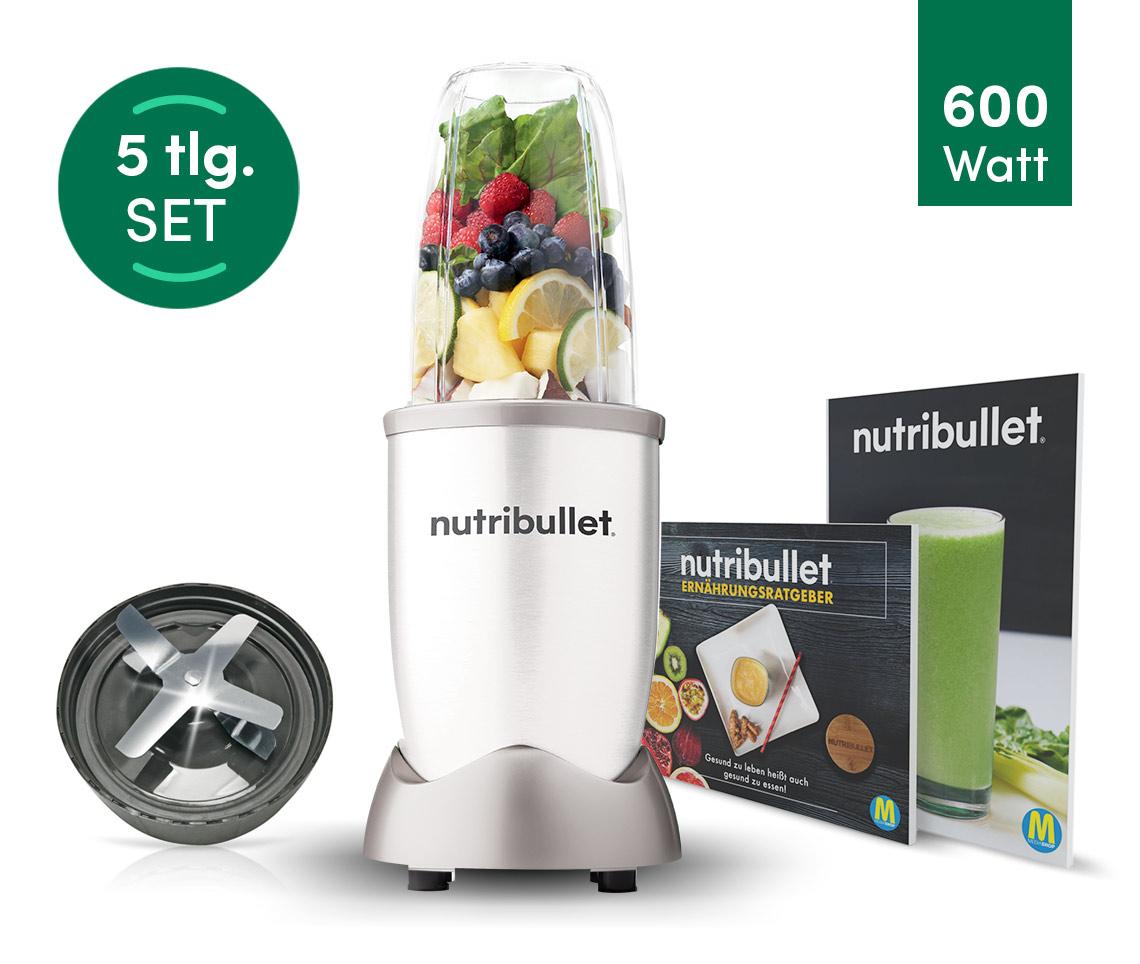 NutriBullet® 600W Weiß 5tlg.